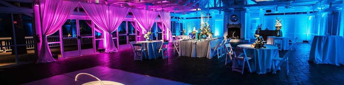 Wedding DJ Reception Lighting